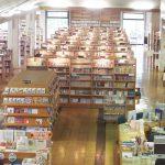 図書館内全景の画像