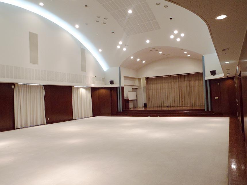 視聴覚ホールの画像